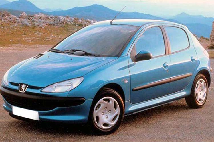 ΚΟΤΣΑΔΟΡΟΙ REUGEOT 206 1998-2003