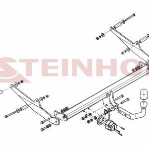 ΚΟΤΣΑΔΟΡΟΣ RENAULT CLIO III 2005-2012 (stationwagon) ΑΠΟΣΠΩΜΕΝΟΣ ΜΕ 2 ΒΙΔΕΣ